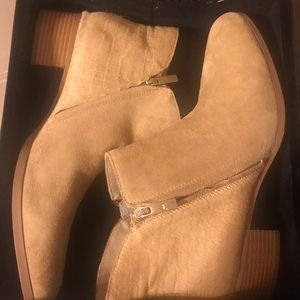Halston ankle boot - new with original box
